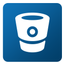 128x128px size png icon of Bitbucket