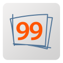 128x128px size png icon of Ninety nine designs