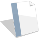 128x128px size png icon of Document