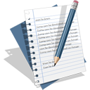 128x128px size png icon of Edit Text