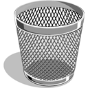 128x128px size png icon of Empty Trash