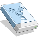 128x128px size png icon of FireWire HD