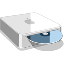 128x128px size png icon of Mac Mini CD
