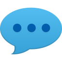 128x128px size png icon of comment