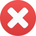 128x128px size png icon of delete 1