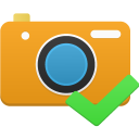 128x128px size png icon of camera accept