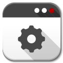 128x128px size png icon of Apps application default