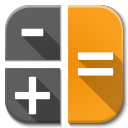 128x128px size png icon of Apps calc