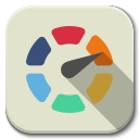 128x128px size png icon of Apps color