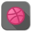 128x128px size png icon of Apps dribble