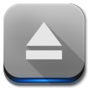 Apps drive removable media Icon