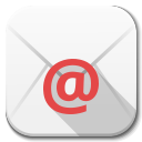 128x128px size png icon of Apps email client