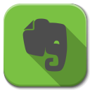 128x128px size png icon of Apps evernote