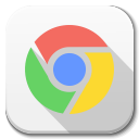 128x128px size png icon of Apps google chrome A