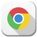 128x128px size png icon of Apps google chrome