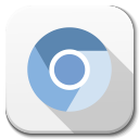 128x128px size png icon of Apps google chromium B
