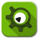 128x128px size png icon of Apps kdevelop
