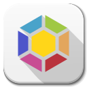 128x128px size png icon of Apps launchpad