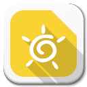 128x128px size png icon of Apps libreoffice draw B