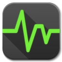 128x128px size png icon of Apps system monitor