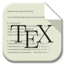 128x128px size png icon of Apps text x tex