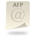 128x128px size png icon of AFP