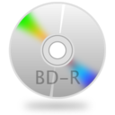 128x128px size png icon of BD R