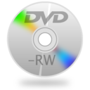 128x128px size png icon of DVD RW