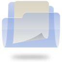 128x128px size png icon of Documents Folder