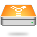 128x128px size png icon of Firewire