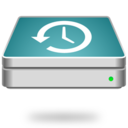 time machine disk format