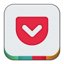 128x128px size png icon of Pocket