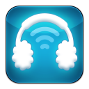 128x128px size png icon of Airphones