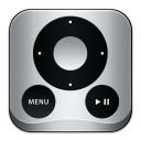 128x128px size png icon of Apple Remote
