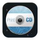 128x128px size png icon of Print CD