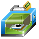 128x128px size png icon of 3D printer