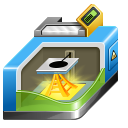 128x128px size png icon of 3D printing
