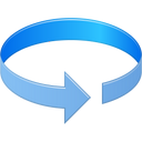 128x128px size png icon of Rotation