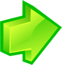 128x128px size png icon of Arrow Forward