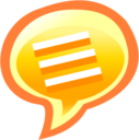 128x128px size png icon of Chat 01