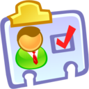 128x128px size png icon of Contact