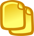 128x128px size png icon of Copy