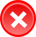 128x128px size png icon of Delete 01