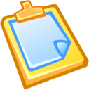 128x128px size png icon of Paste