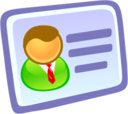 128x128px size png icon of User Info