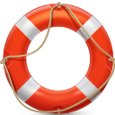 128x128px size png icon of Lifesaver