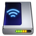 128x128px size png icon of AirPort Disk