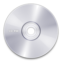128x128px size png icon of CD RW