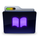 128x128px size png icon of Library 2
