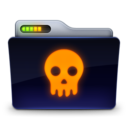 128x128px size png icon of Skull